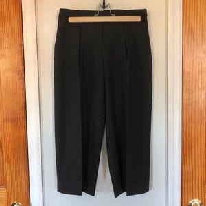 Club Monaco Cropped Wide Leg Wool Pants Size 0
